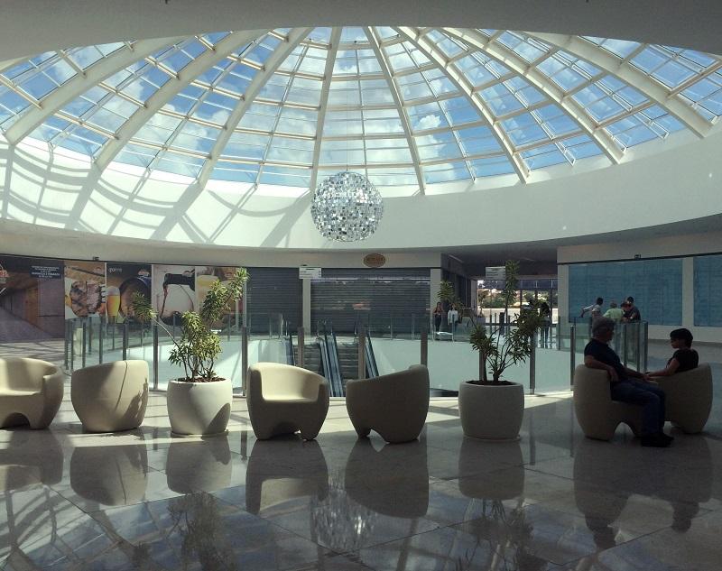 arquitetura de shopping